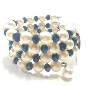 Coiled Faux pearl